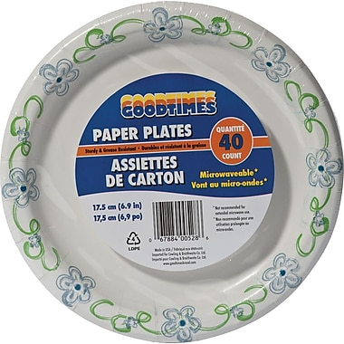 Goodtimes Printed Paper Plate, 7