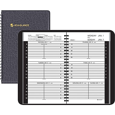 2014 AT-A-GLANCE® Recycled Weekly Appointment Book, 4-7/8in. x 8in.