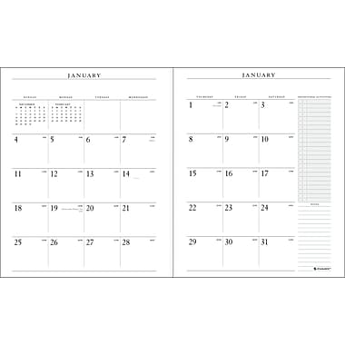 "2014 AT-A-GLANCE® Executive® Monthly Padfolio, 9"" x 11"""