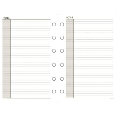 DayRunner® Recycled Notes Pages, 5-1/2in. x 8-1/2in.
