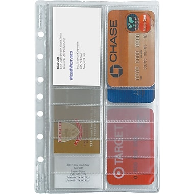 2013 DayRunner® Business Card Holder, 8-1/2in. x 11in.