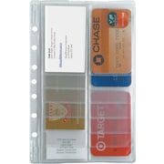 2013 DayRunner® Business Card Holder, 8-1/2 x 11