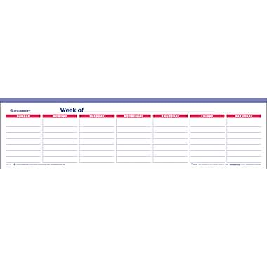 2013 AT-A-GLANCE® Mini Weekly Wall Calendar, Undated, 15in. x 4in.