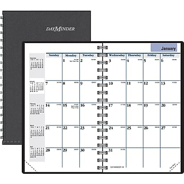 "2014 DayMinder® Monthly Planner, 3 3/4"" x 6"""