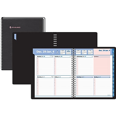 "2014 AT-A-GLANCE® QuickNotes® Special Edition Weekly/Monthly Appointment Book, 4 7/8"" x 8"""
