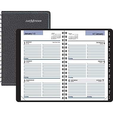"2014 DayMinder® Weekly Appointment Book, 3 3/4"" x 6"""