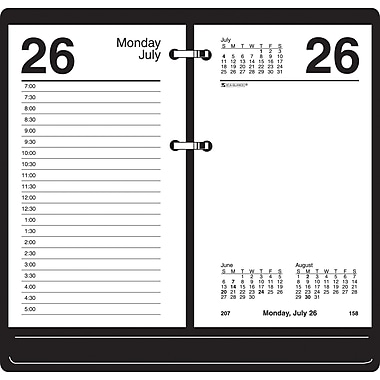 "2014 AT-A-GLANCE® Recycled Desk Calendar Refill, 3 1/2"" x 6"""
