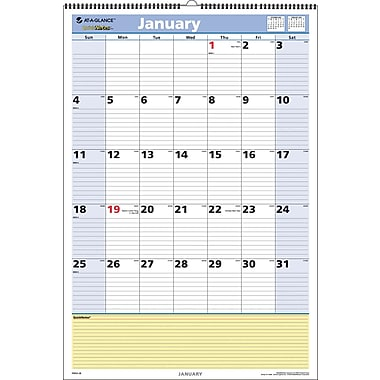 "2014 AT-A-GLANCE® QuickNotes® Wall Calendar, 15 1/2"" x 22 3/4"""