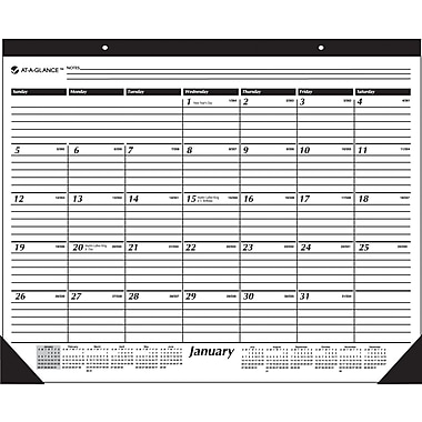 "2014 AT-A-GLANCE® Desk Pad, 22"" x 17"""