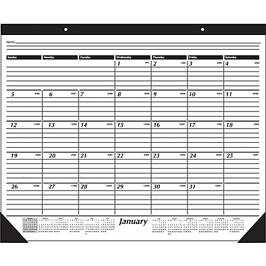 "2014 AT-A-GLANCE® Desk Pad, 24"" x 19"""