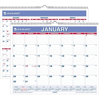 "2014 AT-A-GLANCE® Wall Calendar, 15"" x 12"""