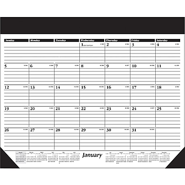 "2014 AT-A-GLANCE® Refillable Desk Pad, 22"" x 17"""
