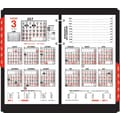 "2014 AT-A-GLANCE® Burkhart's Day Counter® Desk Calendar Refill, 4 1/2"" x 7 3/8"""