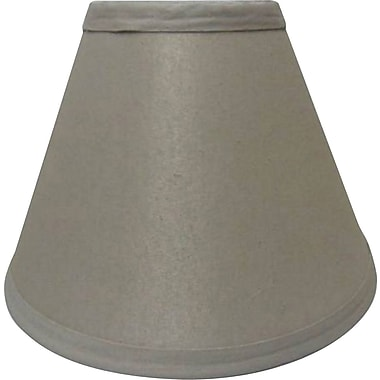 Fangio 14in. Linen Empire Energy Lamp Shade, Cream