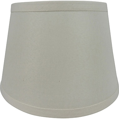Fangio Lighting 14in. Linen Drum Energy Lamp Shade, Cream