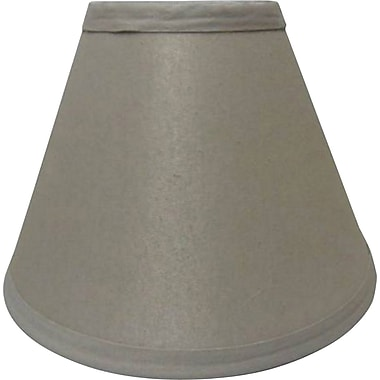 Fangio 16in. Linen Empire Energy Lamp Shade, Cream