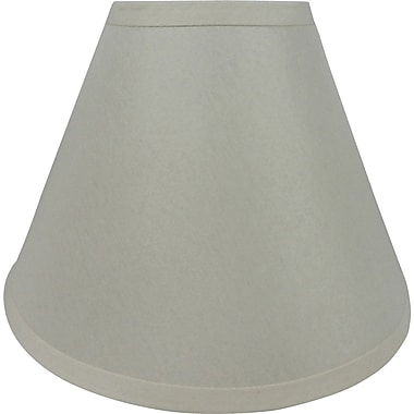 Fangio 17in. Linen Empire Energy Lamp Shade, Cream