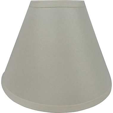 Fangio 18in. Linen Empire Energy Lamp Shade, Cream