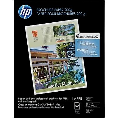 HP® Laser Brochure Paper, 8-1/2