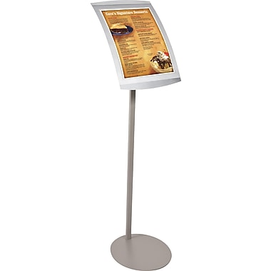 Balt Navigator Floor Stand Sign, Grey