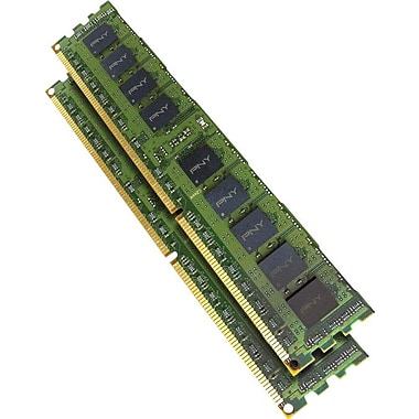 PNY 8GB (2 x 4GB) DDR3 (240-Pin SDRAM) DDR3 1333 (PC3 10666) Universal Server Memory