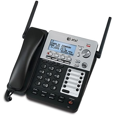AT&T SynJ®SB67158 4-Line Corded/Cordless with Digital Answering System