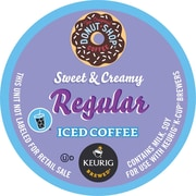 Keurig® K-Cup® Coffee People® Original Donut Shop™ Sweet & Creamy Regular Iced Coffee, 16/Pack