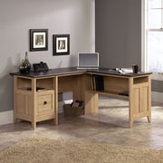 Sauder® August Hill™ L-Desk, Oak