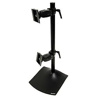 ERGOTRON® Up To 23 lbs. 24in. LCD Monitor DS100 Dual Display Desk Stand