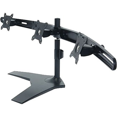 PLANAR™ Up To 52.8 lbs. 24in. LCD Monitor Triple Display Stand