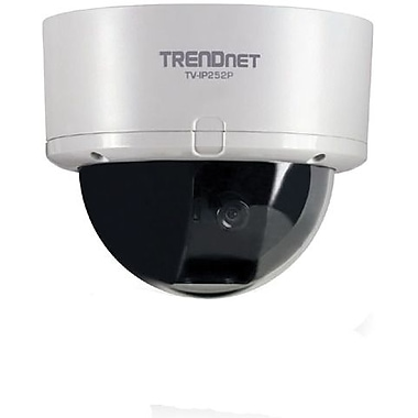 SecurView™ 1/4in. CMOS Version B1.xR Dome Network Camera