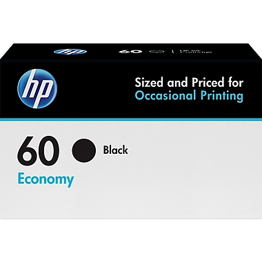 HP 60 Black Economy Ink Cartridge  (B3B05AN)