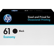 HP 61 Black Economy Ink Cartridge (B3B07AN)