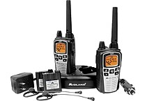 Midland GXT860VP4 Two Way Radios with Dual Power Options