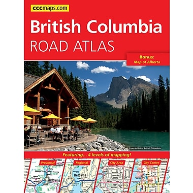 MapArt British Columbia Road Atlas