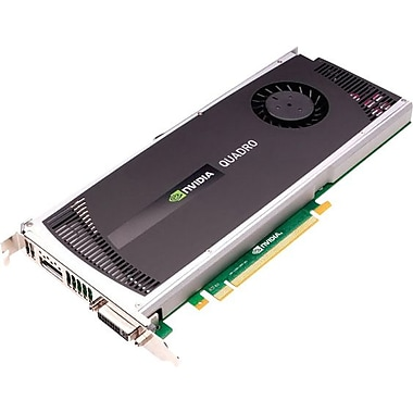 HP® NVIDIA Quadro 4000 GPU 2GB 256-Bit GDDR5 Memory Video Card