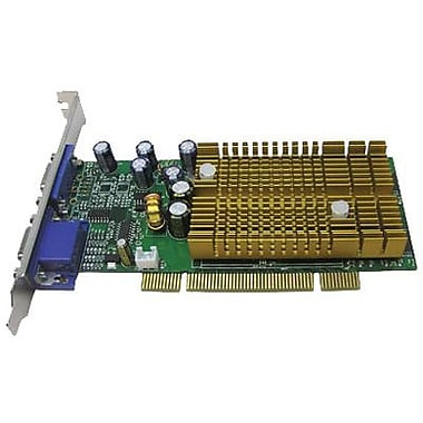 HP® NVIDIA GeForce 6200 GPU 256 MB 128-Bit DDR SDRAM Memory Low Profile Ready And ATX Graphic Card