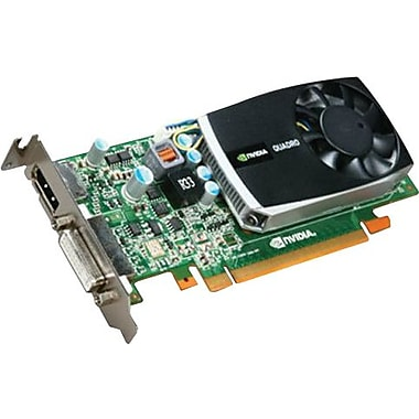 EVGA® NVIDIA Quadro 600 GPU 1GB 128-Bit DDR3 Memory Low Profile And ATX Video Card