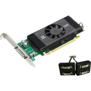 EVGA® NVIDIA Quadro NVS 420 GPU 512MB 128-Bit GDDR3 Memory Low Profile Ready Video Card
