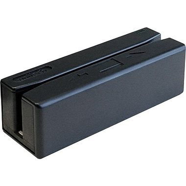 MAGTEK® Black Triple Track 4 Pin USB Type A 6 - 60 in/sec Swipe Reader