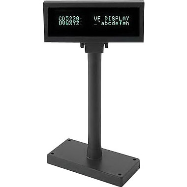 PARTNERTECH 12 VDC RS-232 9 Pin D-Sub 2 x 20 CD-5220  Vacuum Fluorescent Customer Display