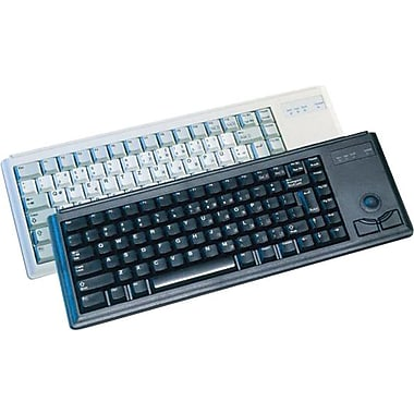 CHERRY® Black 83 Keys PS/2 G84-4400 Compact Ultraslim Keyboard