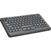 CHERRY J842120LUBUS2 Backlit Washable POS Keyboard, Black