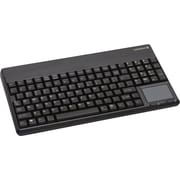 "CHERRY G86-62401EUADAA 14"" English Keyboard With Integrated Touchpad, Black"