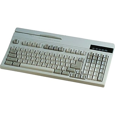 Unitech Black 104 Keys USB Dual Track POS Keyboard