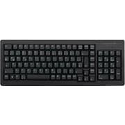 CHERRY® Black 88/89 Keys USB Or (2) PS/2 G84-5000 Ultraslim XS Trackball Keyboard
