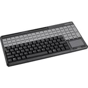 CHERRY® Black 123 Keys USB 2.0 G86-614 SPOS Multi Functional Qwerty Keyboard
