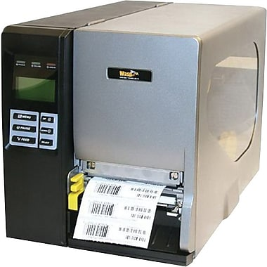 Wasp® 203 dpi Up To 8 in/sec Thermal Transfer And Direct Thermal Industrial Barcode Printer