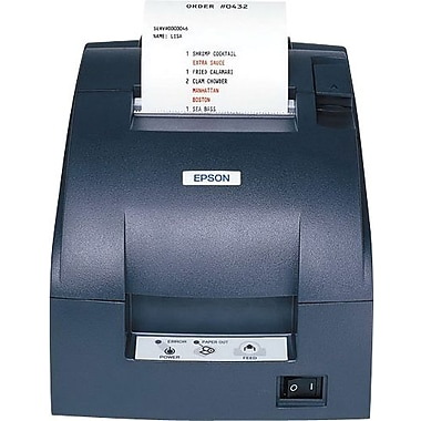 EPSON® TM-U220B EDG 4.7/6 lps At 40/30 Columns 9 Pin Serial Impact Dot Matrix Receipt Printer