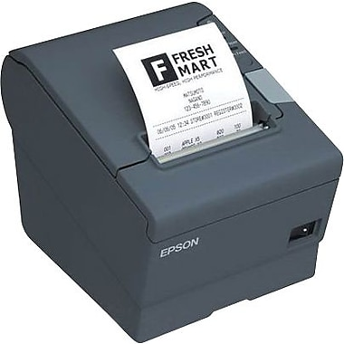 EPSON® TM-T88V ECW 300 mm/sec Parallel And USB Thermal Line Dot Single Station Receipt Printer